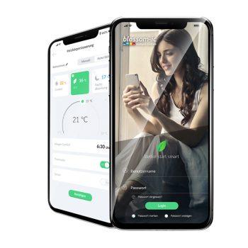 Heizungssteuerung mittels App